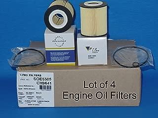 (Lot of 4) L15505 / SOE5505 Engine Oil Filter Fits:FORD ESCAPE FUSION , MAZDA 3 5 6 B2300 CX-7 TRIBUTE , MERCURY MARINER MILAN