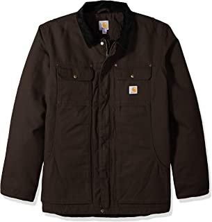 mens Full Swing Relaxed Fit Washed Duck Insulated...