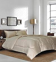 Hotel Linen Box Sateen Double Size 220 x 240 cm Bedding Set of 3 Pieces, Beige