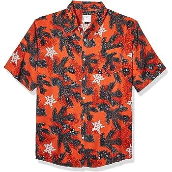 OS Team Color FOCO MLB Chicago Cubs Mens Pinecone Button Down SHIRTPINECONE Button Down Shirt