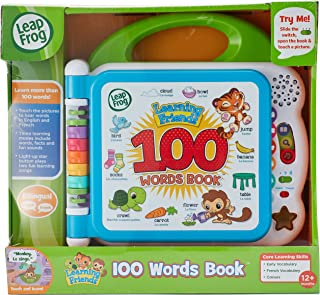 Leap Frog Learning Friends 100 Words Book, Multicolor, Piece Of 1
