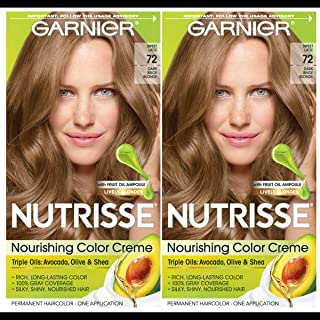 garnier hair color hazel blonde