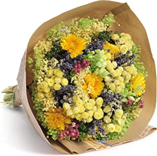 Amazon Fr Bouquet De Fleurs Sechees