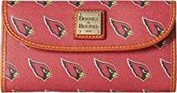 Dooney & Bourke - NFL Continental Clutch