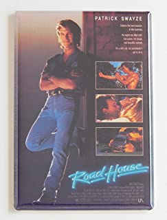 Road House Movie Poster Fridge Magnet (2.5 x 3.5 inches)