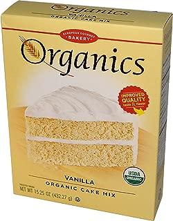 European Gourmet Bakery, Organics, Vanilla Organic Cake Mix, 15.25 oz (432.27 g) - 3PC