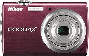 Nikon Coolpix S230 10MP Digital Camera with 3x Optical Zoom and 3 inch Touch Panel LCD (Plum)