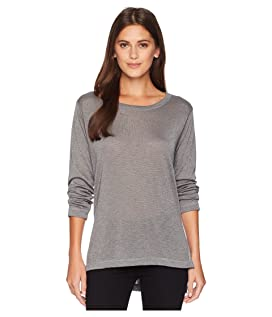 Long Sleeve High-Low Tunic with Side Slits
