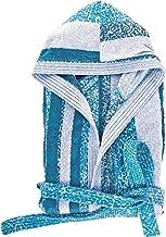 Secaneta Stilia, Albornoz De Baño Unisex De Algodón 100% Con Capucha, Bolsillos Y Cinturón, Eiris (Talla/Size M (Medium), Cobalto)
