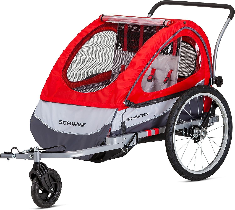 Schwinn Cheap sale At the price Echo and Trailblazer Child Dou Trailer Bike Single