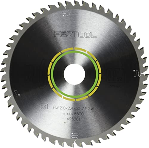 wholesale Festool 495381 Fine Tooth lowest Cross-Cut new arrival Saw Blade For TS 75 Plunge Cut Saw - 52 Tooth sale