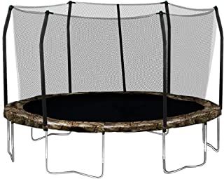Skywalker Trampolines 15-Feet Round Trampoline and Enclosure with Spring Pad