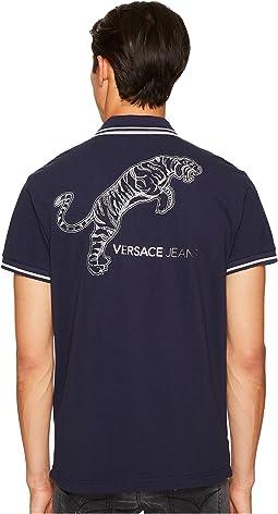 Versace Jeans - Tiger Logo Polo