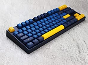 ZALE Portable Keyboard, 166 Keys Gaming Keyboard, Wired USB Mechanical Keyboard for Desktop Laptop Tablet Ultra-Thin and Silent (Color : 166 Keys)