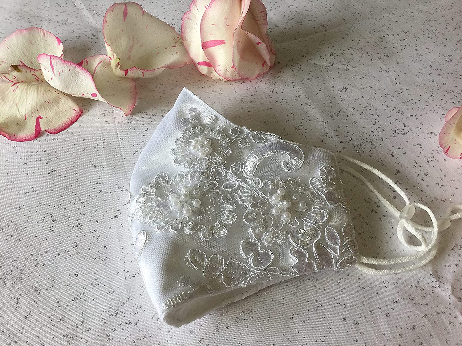 Bridal wedding white Face Mother Max 67% OFF Event 25% OFF M Mask