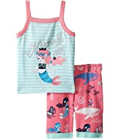 Hatley Kids - Sweet Mermaid Tank Pajama Set (Toddler/Little Kids/Big Kids)