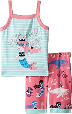 Sweet Mermaid Tank Pajama Set (Toddler/Little Kids/Big Kids)