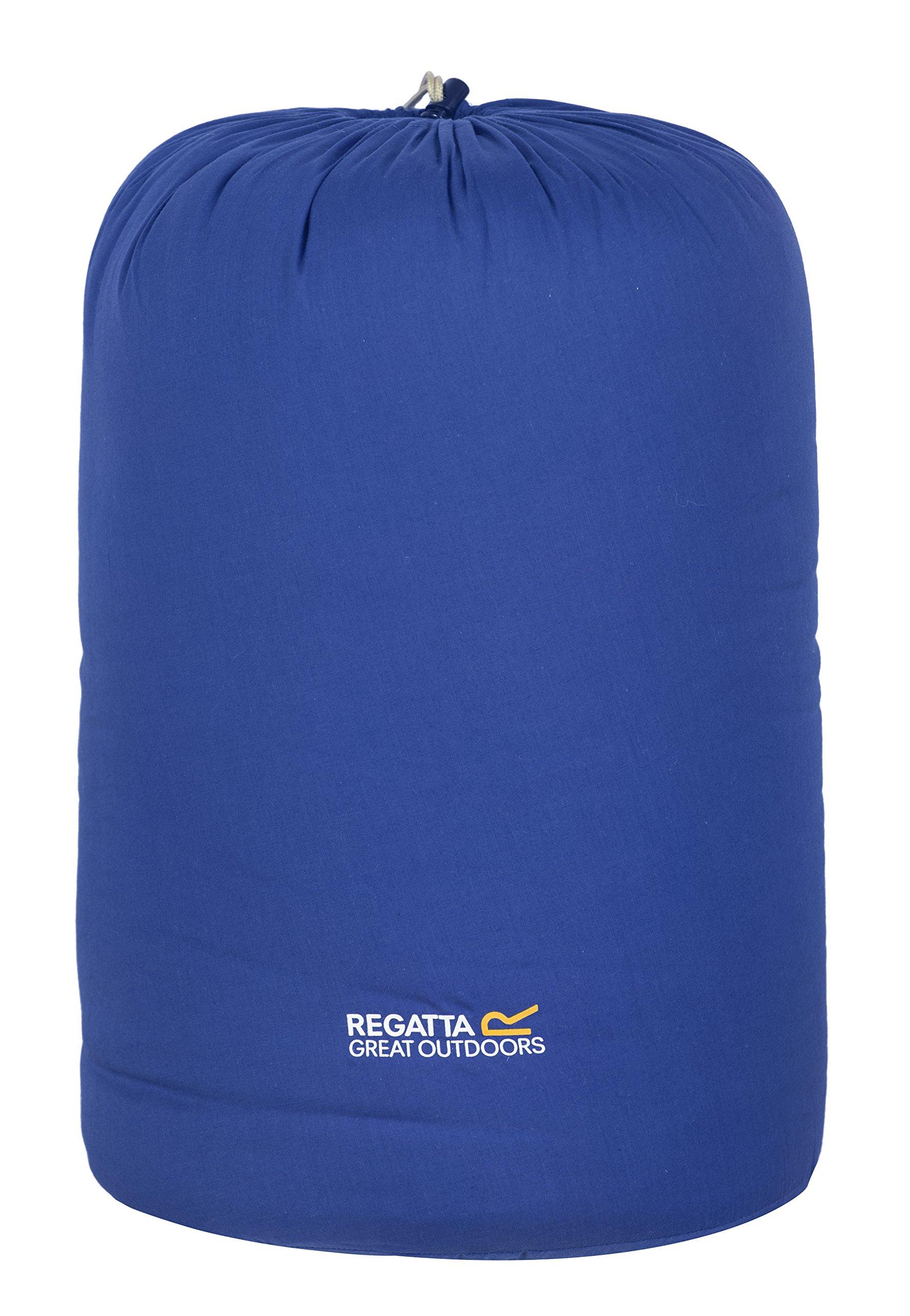 Regatta Single Bienna Schlafsack für Einzelbett, Laserblau, Laser-Blau