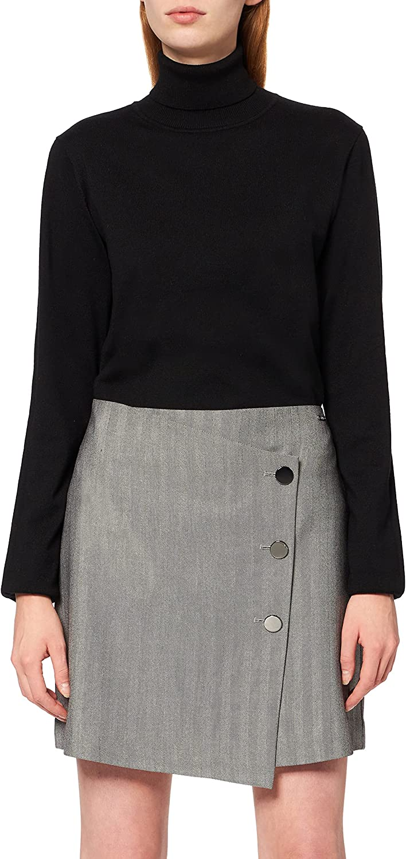 AX Armani Fashion Exchange Women's Pleated New popularity Mesh Maxi Skirt