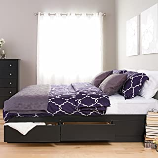 california king bed with drawers underneath