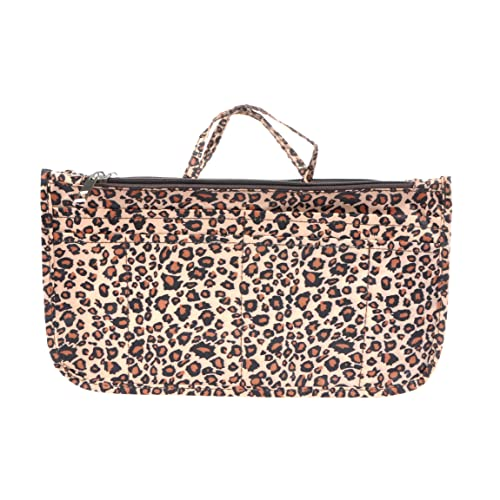 958bacb5834f Vercord Printed Purse Handbag Tote Insert Organizer 13 Pockets With Zipper  and Handles 2 Size