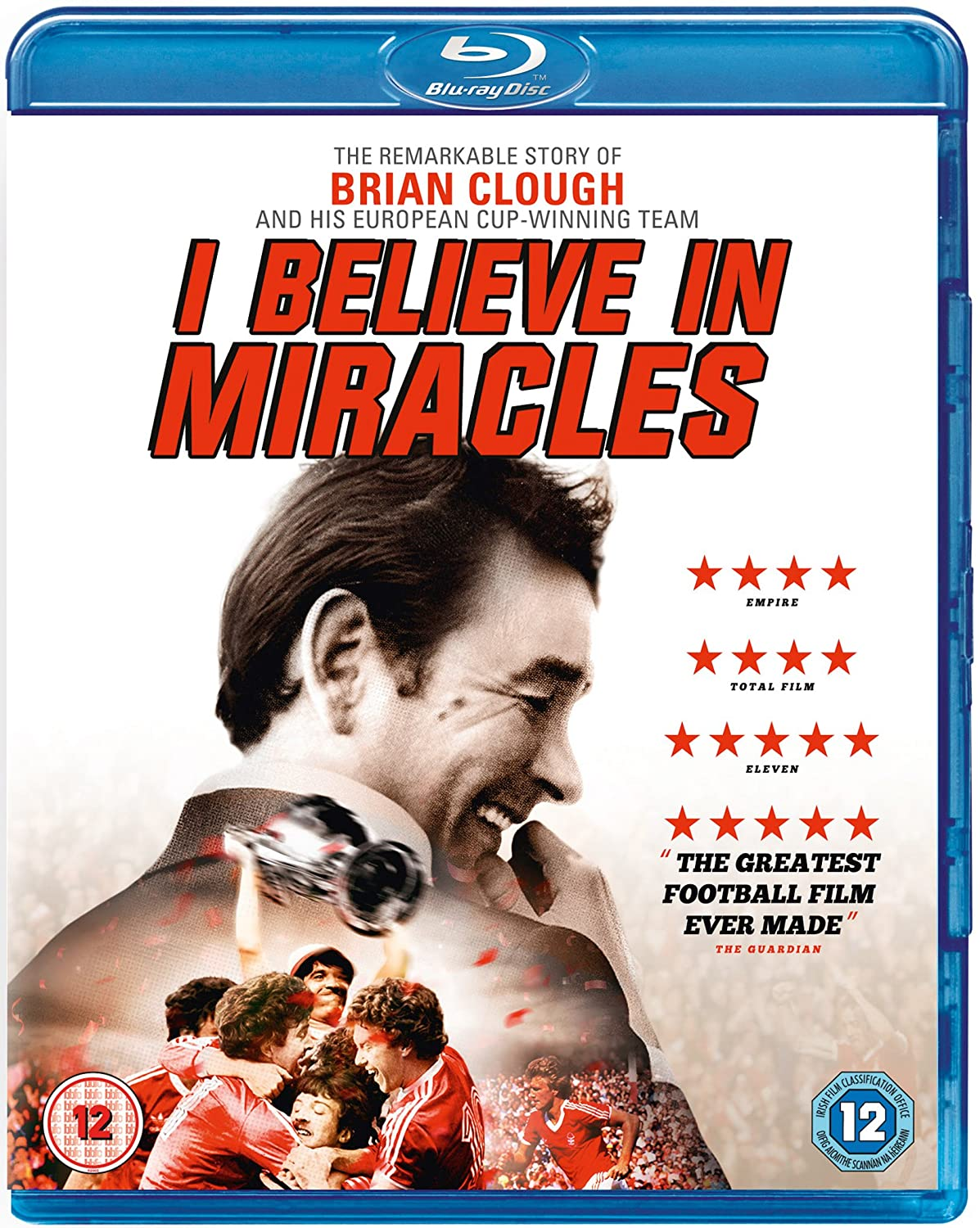 Brian Clough: I Austin Mall Believe Luxury goods 2015 Blu-ray in Miracles