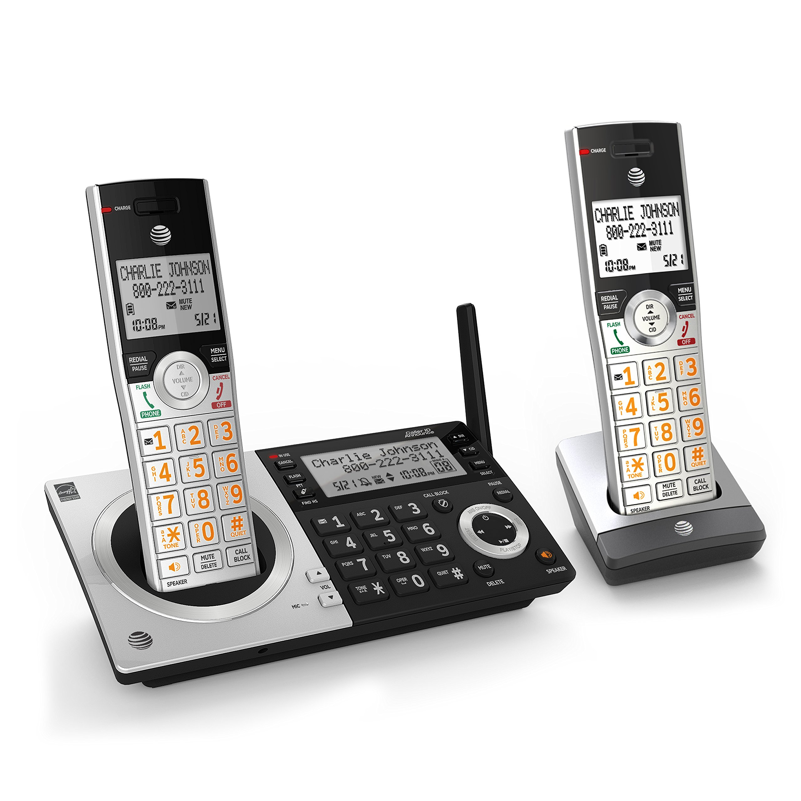 AT CL83207 Expandable Cordless Handsets