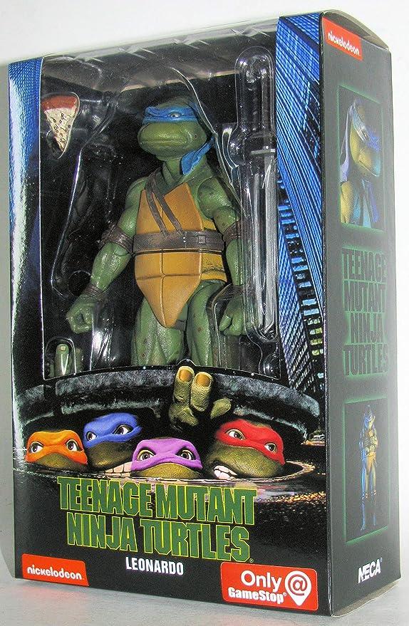 """TMNT Teenage Mutant Ninja Turtles Leonardo Plush Doll Nickelodeon 17/"""" Stuffed AA"""