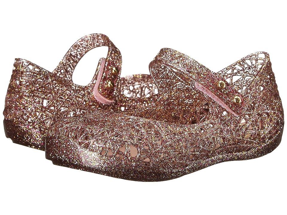 Mini Melissa Mini Campana Zig Zag VI (Toddler) (Mix Pink Glitter) Girls Shoes