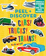 Peel + Discover: Cars! Trucks! Trains! And More