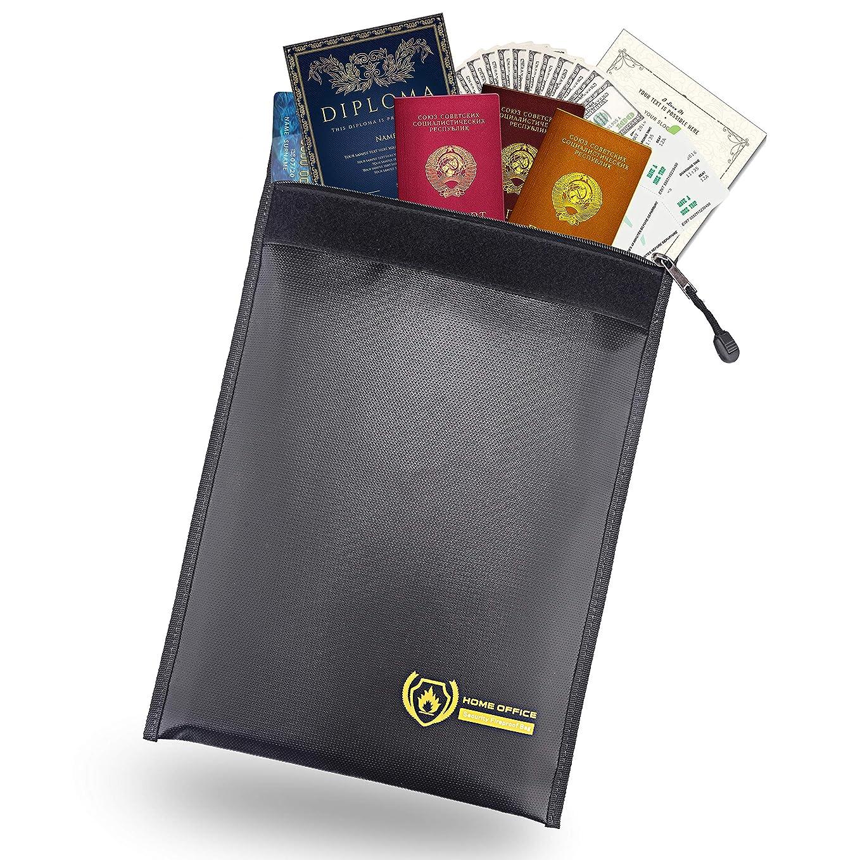 強調する完全に乾くシェア金庫耐火バッグ 書類保管バッグ 貴重品保管 現金収納 防災 防水 [ 並行輸入品 ]