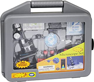 Edu-Toys  Electronics Discovery Planet Microscope Set in Carrying Case