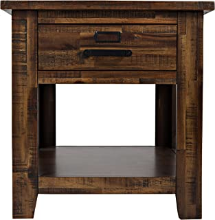 Jofran: , Cannon Valley, Square End Table, 24