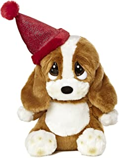Aurora World Sad Sam Lil Pup Birthday Plush with Hat, 7.5