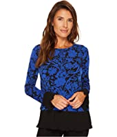 MICHAEL Michael Kors - Garden Galore Pleat Hem Top