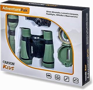 Carson AdventurePak Featuring 30mm Binoculars and Outdoor Accessories