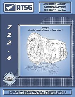 ATSG Mercedes 722,6 / NAG 1 Manual de reparo de transmissão automática (ferramenta de dipstick fluido de transmissão Merce...