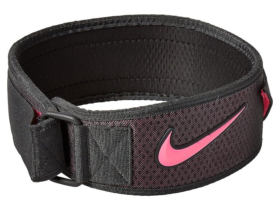 Nike Intensity Training Belt (Black/Hyper Pink) Athletic Sports Equipment