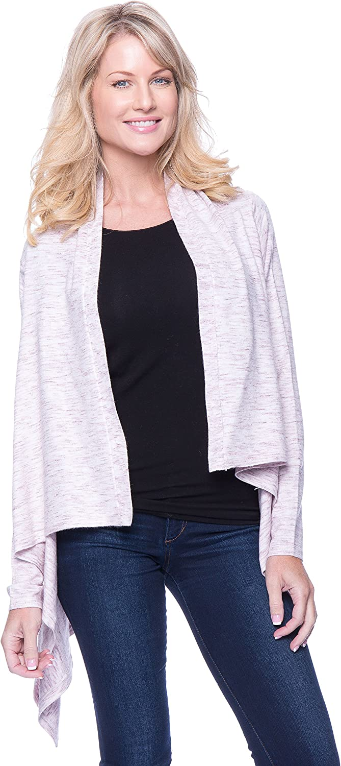 Tocco Reale Women's Space Dyed Open Cardigan Sweater