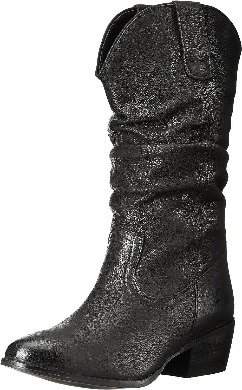 Naughty Monkey Womens Shavano Slouch Boot