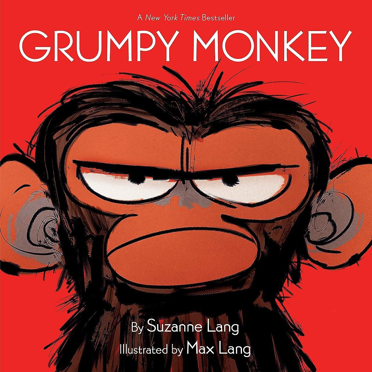 不格好寮普遍的なGrumpy Monkey (English Edition)