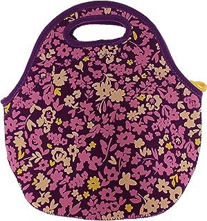 BUILT NY Gourmet Getaway Neoprene Lunch Tote (Lib Floral Purple)