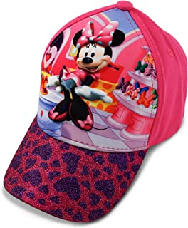 7587fae8be8 Disney Toddler Girls Minnie Mouse Character 3D Pop Baseball Cap