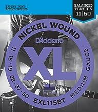 D'Addario EXL115BT Juego de Cuerdas, Plateado