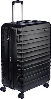 AmazonBasics Valise de voyage à roulettes pivotantes, Noir, 78 cm