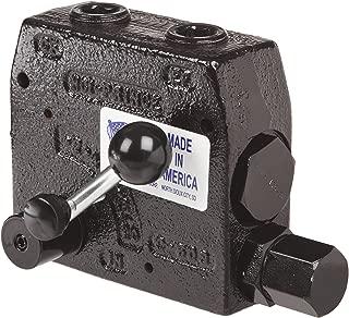 Prince RDRS-175-30 Flow Control Valve, Adjustable Pressure Relief, Cast Iron, 3000 psi, 0-30 gpm, 3/4
