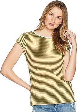 Stripe Clare Tee