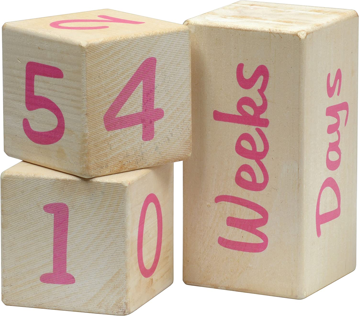 Portrait Prop Age Blocks safety - Made USA Pink Special price for a limited time in