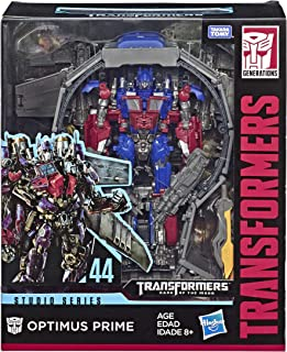 Transformers Toys Studio Series 44 Leader Class Dark of The Moon Movie Optimus Prime..