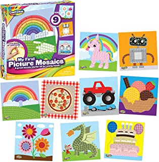 Creative Kids My First Picture Mosaics 9 DIY Create Your Own Mosaics 1500+ Stickers - Educational Arts and Crafts Kit for ...